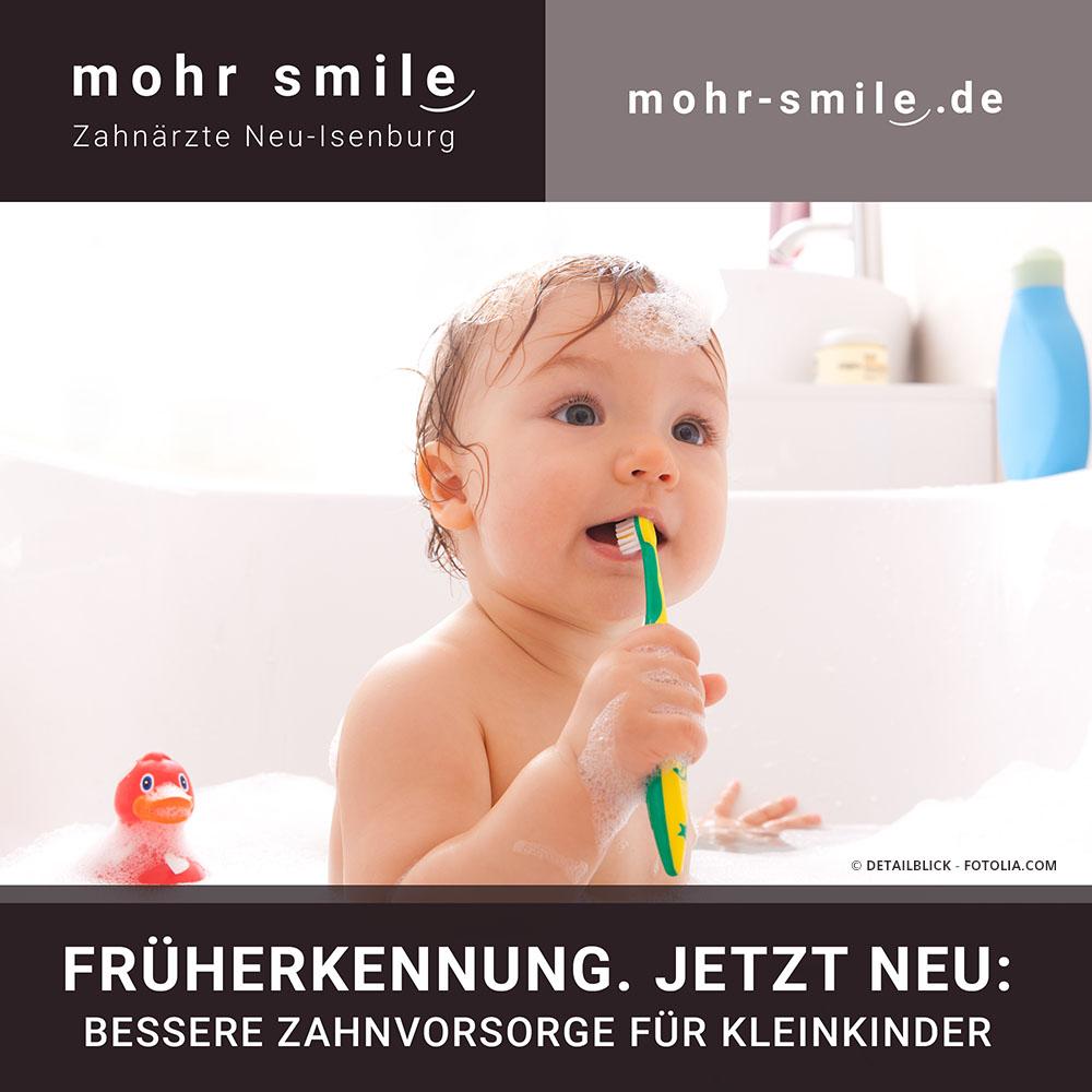 Zahnvorsorge für Kleinkinder in Neu-Isenburg