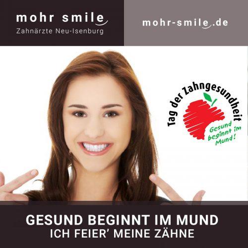 Tag der Zahngesundheit 2019 - Zahnarztpraxis in Neu-Isenburg