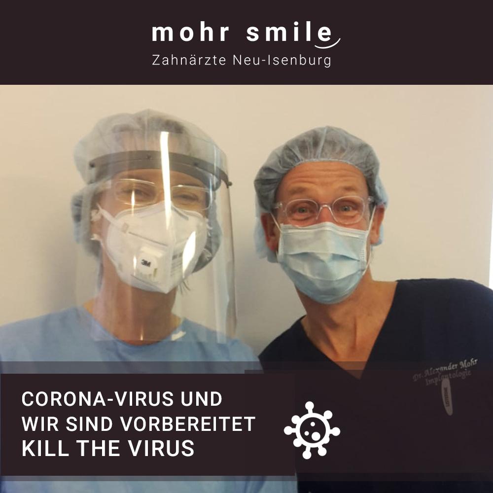 Zahnarztpraxis Neu-Isenburg Coronavirus