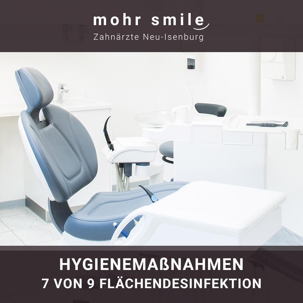 mohr smile - Hygienemaßnahmen 7 von 9 Flächendesinfektion