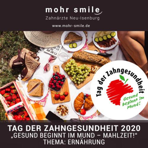 2020-09 Tag der Zahngesundheit - mohrsmile