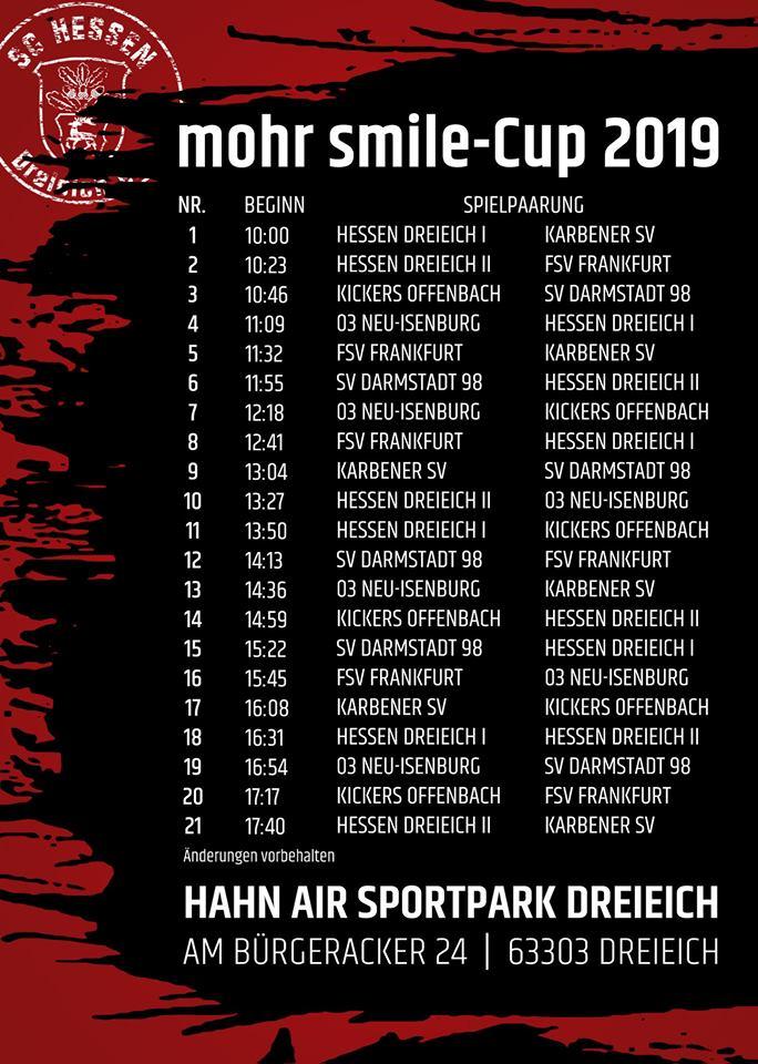 mohr-smile-cup 2019 Fußballturnier
